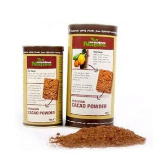 Creative Nature Organic Cacao Powder - Peruvian 100g