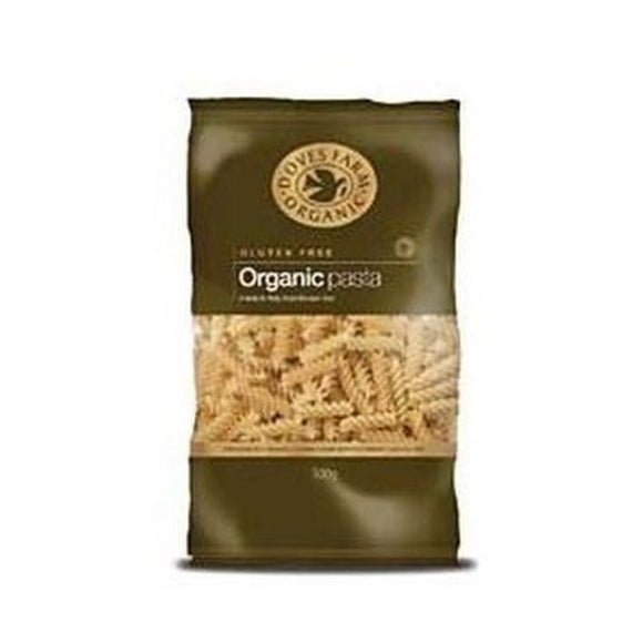 Doves Farm Organic Gluten Free Brown Rice Fusilli Pasta 500g