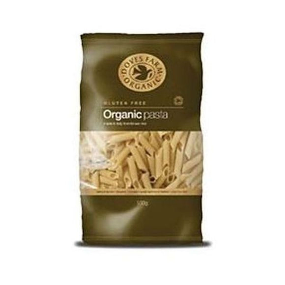 Doves Farm Organic Gluten Free Brown Rice Penne Pasta 500g