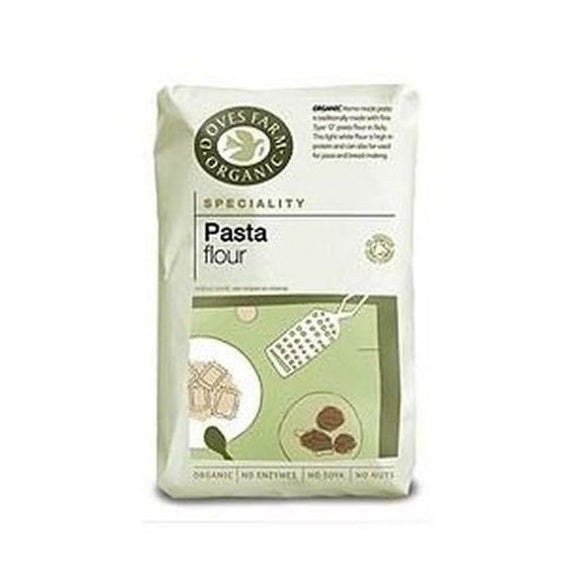 Doves Farm Organic Pasta Pizza Flour 1kg 5 Pack