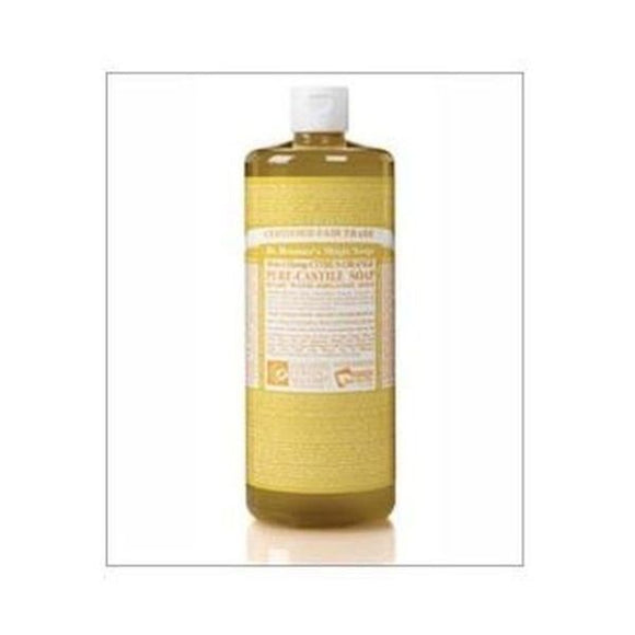 Dr Bronners Organic Citrus Orange Pure-Castile Liquid Soap