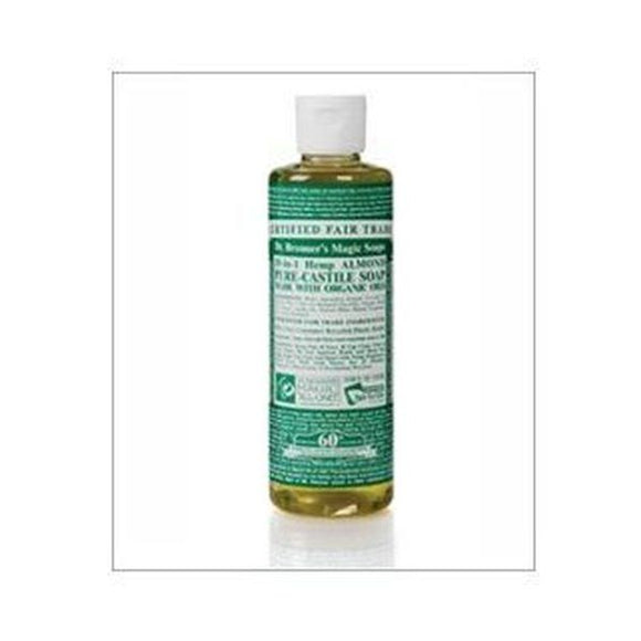 Dr Bronners Organic Almond Castile Liquid Soap 237ml