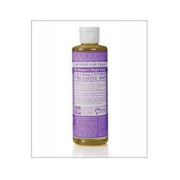 Dr Bronners Organic Lavender Liquid Soap 237ml
