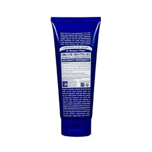 Dr Bronners Organic Peppermint Shaving Gel