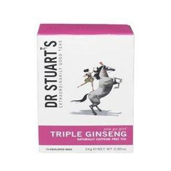 Stuart'S (Dr) Botanical & Frui Triple Ginseng Plus Tea 15sach