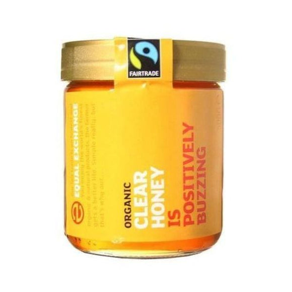 Equal Exchange Fairtrade & Organic Clear Honey 500g
