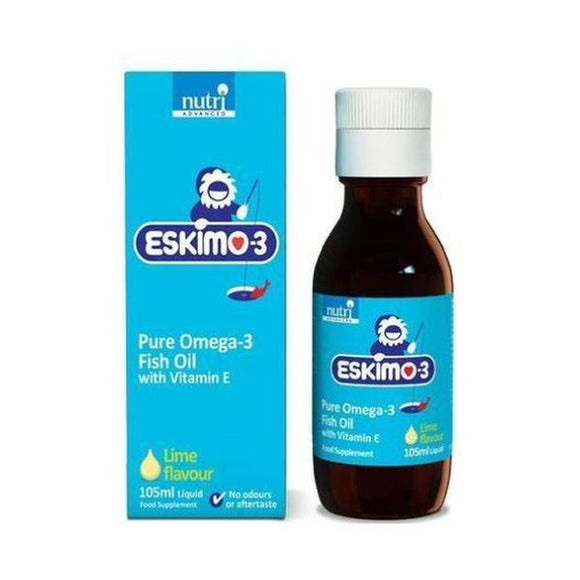 Eskimo Eskimo 3 - Stable Fish Oil Lime 105ml