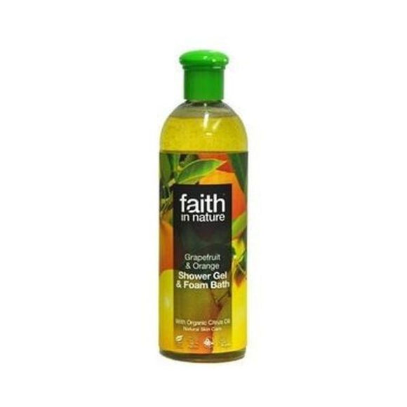 Faith In Nature Grapefruit & Orange Foam Bath 400ml