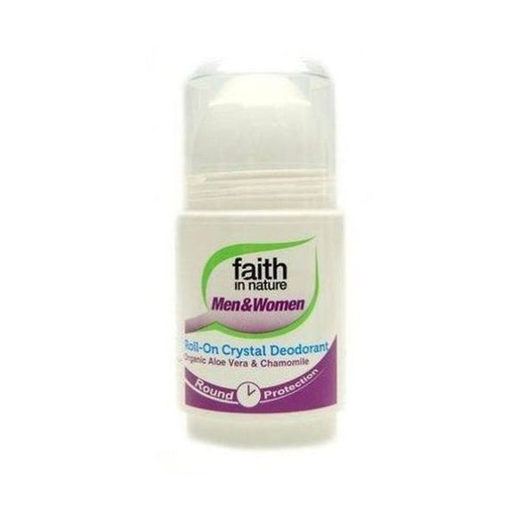 Faith In Nature Roll-On Deodorant Aloe Vera & Chamomile 50ml
