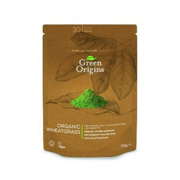 Green Origins Organic Wheatgrass Powder 125g