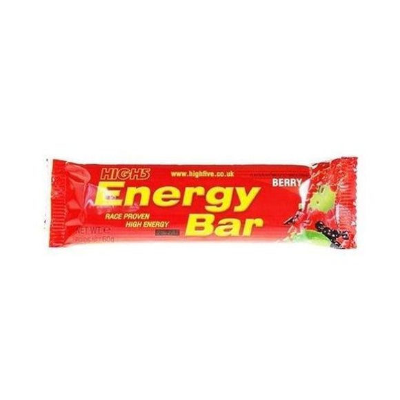 High Five Energy Bar - Wild Berry 60g 25 Pack