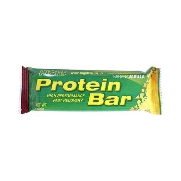 High Five Protein Bar - Banana/Vanilla 50g 25 Pack