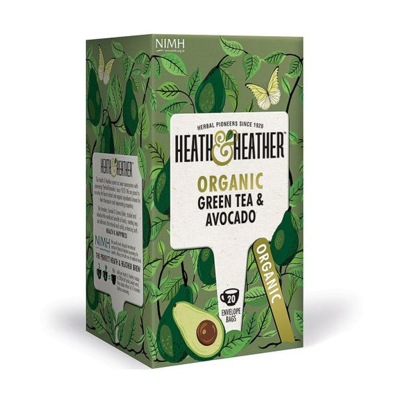 Heath & Heather Organic Green Tea & Avacado