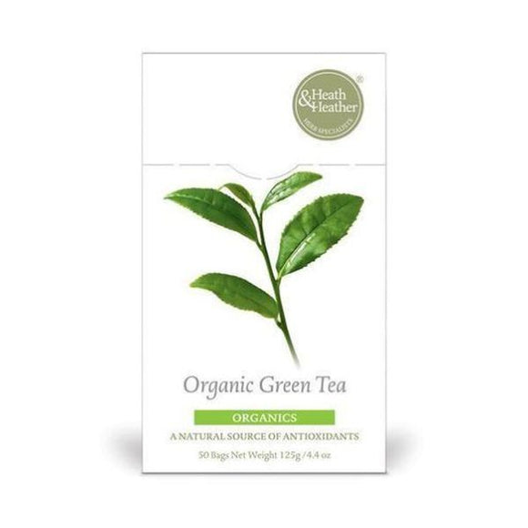 Heath & Heather Organic Green Tea 20bags