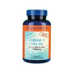 Higher Nature Omega 3 Fish Oils 1000mg UK ONLY 90caps