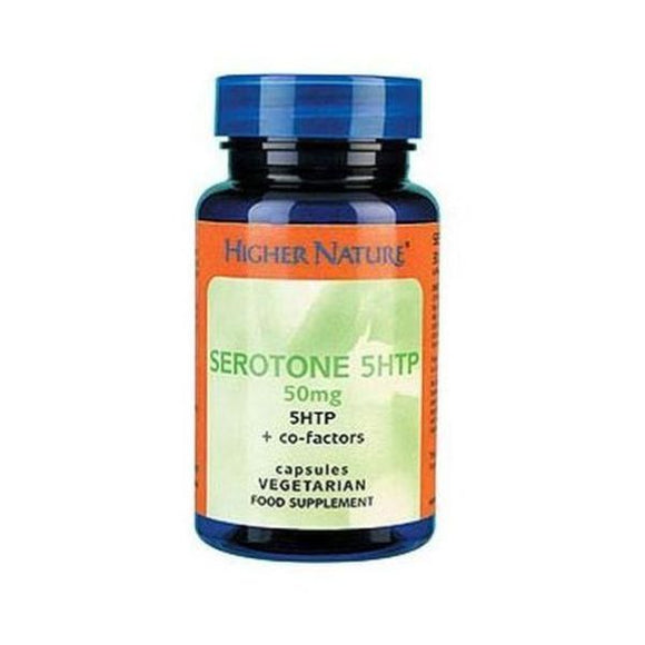 Higher Nature Serotone 50mg - UK ONLY 90caps