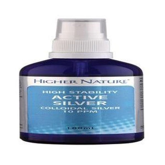 Higher Nature Active Sliver (was Colloidal Silver) UK ONLY 100ml
