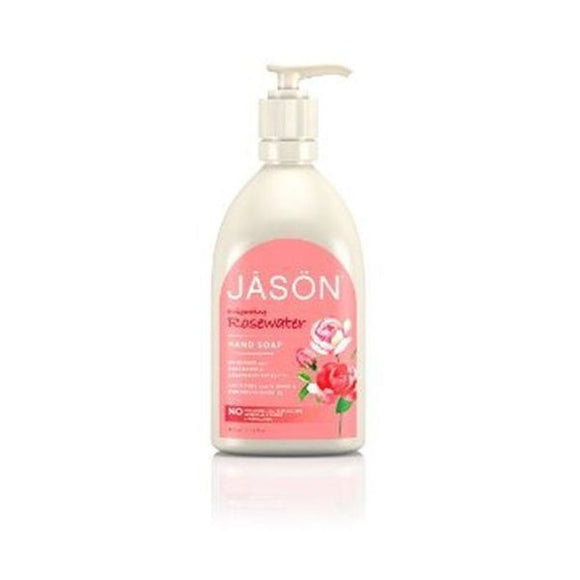 Jason Bodycare Glycerine & Rose Liquid Satin Soap with Pump 480ml