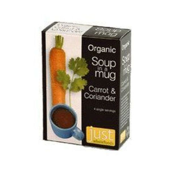 Just Natural Organic Instant Carrot & Coriander Soup Mix 4x17g