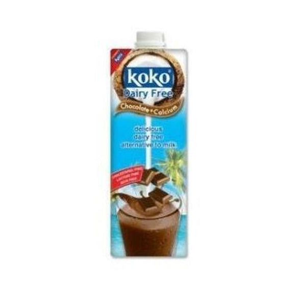 Koko Dairy Free Chocolate Plus Calcium 1ltr