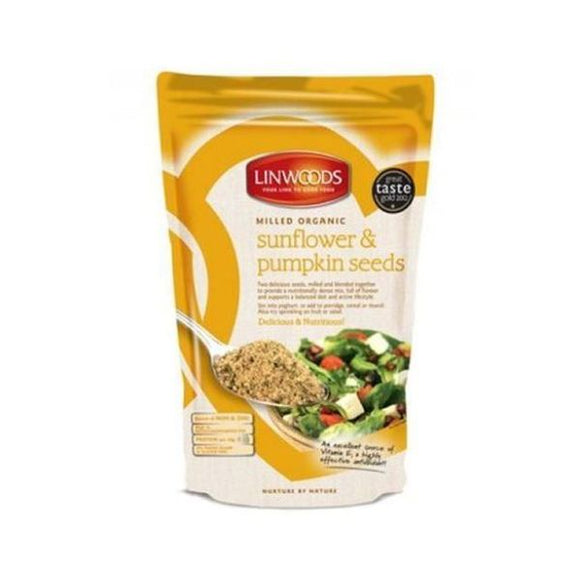 Linwoods Organic Milled Flaxseed, Sunflower & Pumpkin 200g