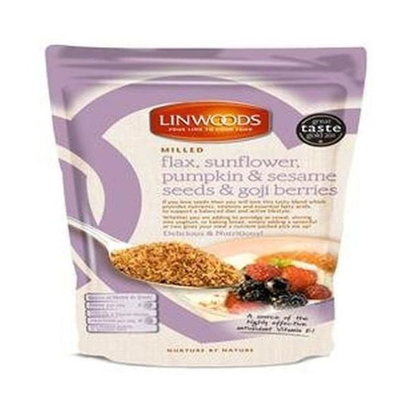 Linwoods Milled Flaxseed, Sunflower, Pumpkin, Sesame & Goji Berries 200g