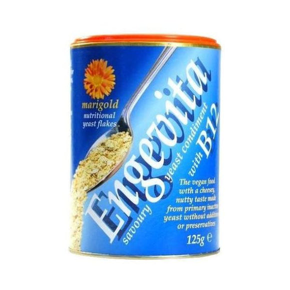 Marigold Engevita Yeast Flakes With Vitamin B12 125g