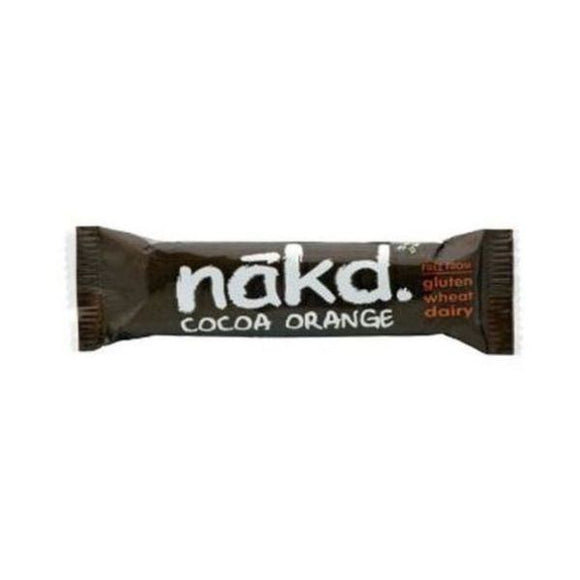 Nakd Bars Gluten Free Cocoa Orange Bar 35g 18 Pack
