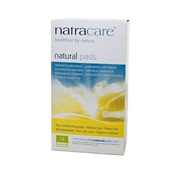 Natracare Pads Curved Regular 14