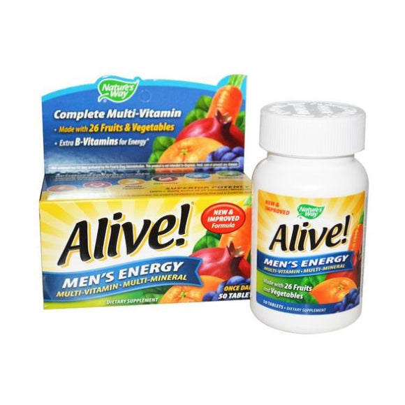 Alive! Men's Energy Multi-Vitamin OAD 30tabs