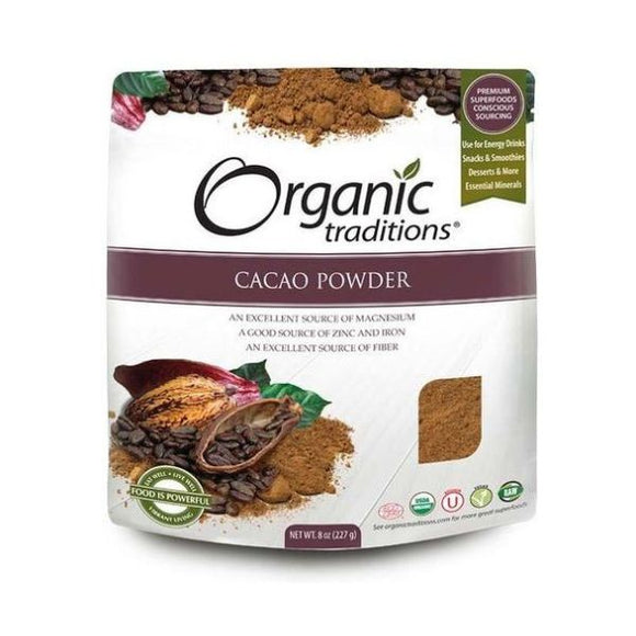 Organic & Natural Traditions Cacao Powder 227g