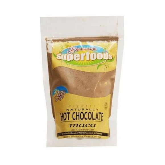 Of The Earth Superfoods Organic Naturally Hot Chocolate Maca
