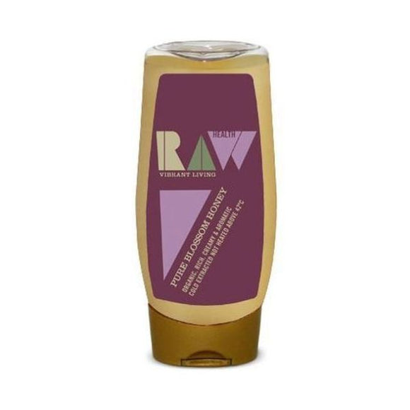Raw Health Organic Pure Blossom Honey - Squeezy 350g