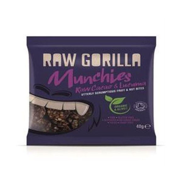 Raw Gorilla Raw Cacao & Lucuma Munchies