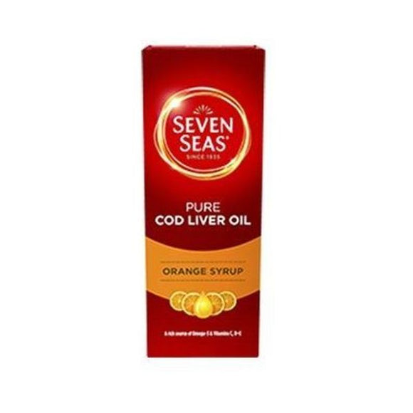 Seven Seas Orange Syrup Cod Liver Oil 150ml