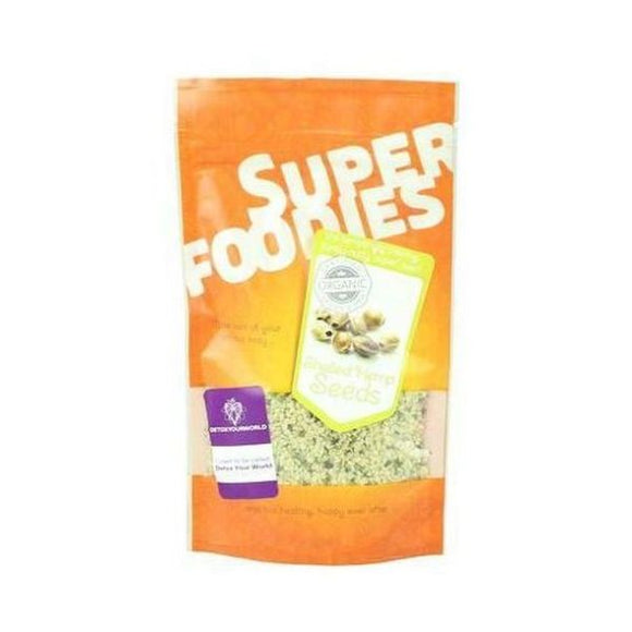 Superfoodies Organic Shelled Hemp Seeds 100g