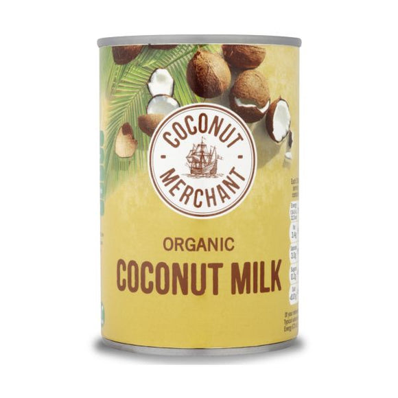 Coconut Merchant Organic Coconut Milk 200ml