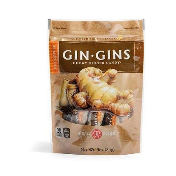 Ginger People Ginger Chews - Hot Coffee 42g