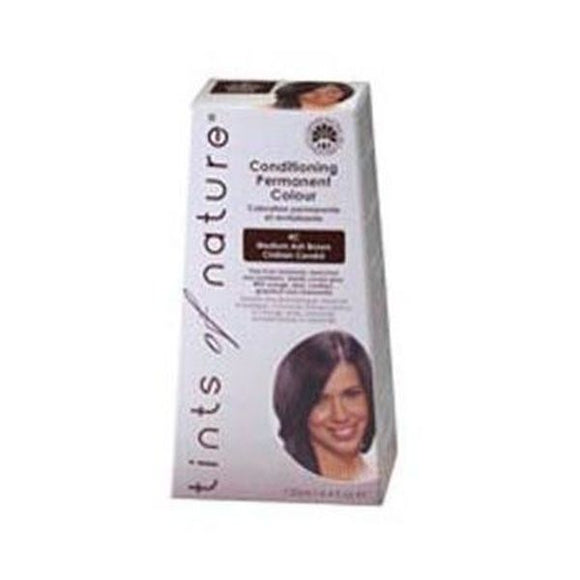 Tints Of Nature 4C Medium Ash Brown Permanent Hair Colour 130ml
