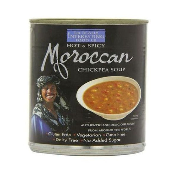 The Really Interesting Food Co Moroccan Chick Pea Soup 400g