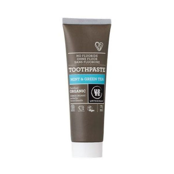 Urtekram Organic Mint with Green Tea Toothpaste 75ml