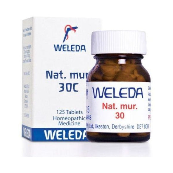 Weleda Nat Mur 30 - Sinus Troubles HR 125tabs