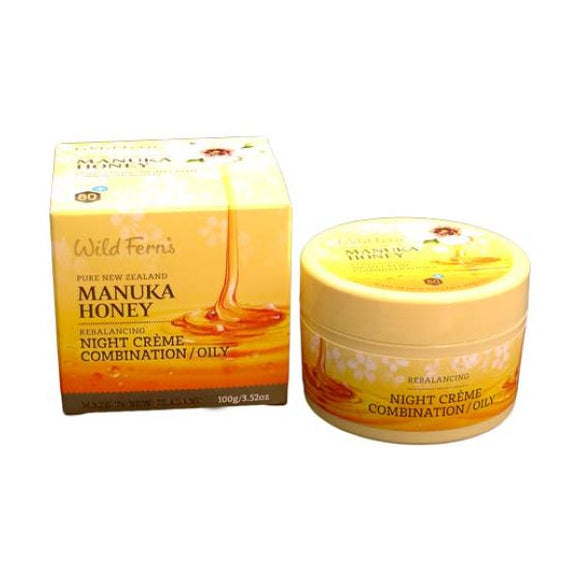 Wild Ferns Manuka Honey Night Cream (Norm/Dry)