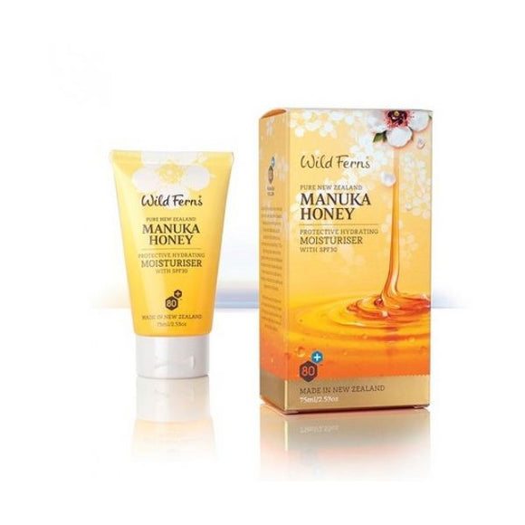 Wild Ferns Manuka Honey Facial Moisturiser 75ml
