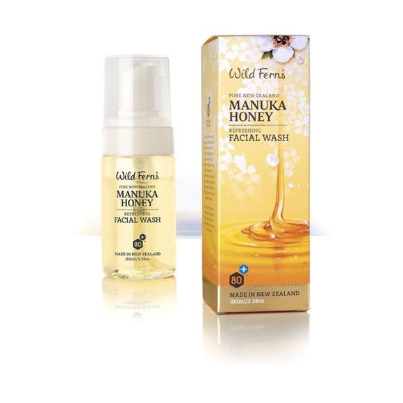 Wild Ferns Manuka Honey Facial Wash 100ml