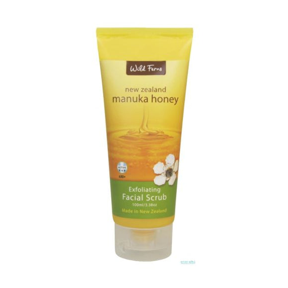 Wild Ferns Manuka Honey Facial Scrub 100ml