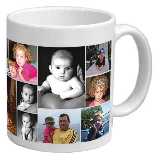 Crenchy.com Customized Photo Print Ceramic 325ml Coffee Mug(White)