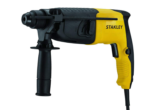 Stanley 20mm 620-Watt 2 Mode SDS-Plus Hammer with Kitbox (Yellow and Black)