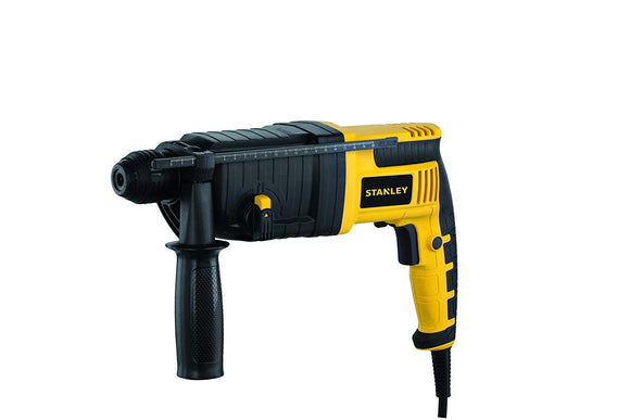 Stanley 22mm 720-Watt 3 Mode SDS-Plus Hammer with Kitbox (Yellow and Black)