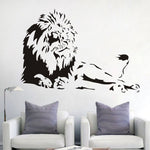 Male Lion Removable Wall Art Removable Home Decor Decals
